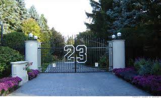 Michael Jordan's gate