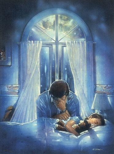 parent praying
